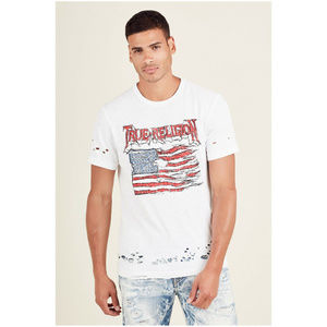 True Religion Men's Land Of The Free Tee T-Shirt